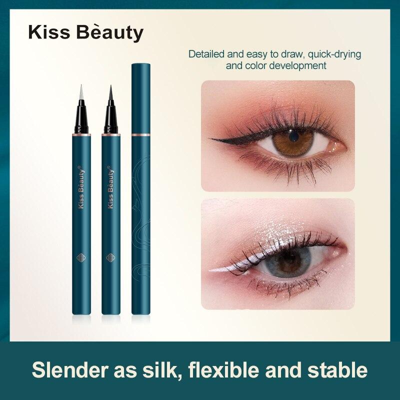 NEW PRODUCT 1 Pc Liquid Eyeliner Pen Quick-drying Waterproof Sweat-proof Makeup Long-lasting Non-smu