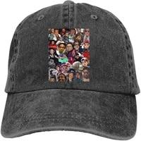 kevin gates baseball cap retro washed cowboy hat adjustable fashion casual baseball hat hip hop trucker hat cap for unisex