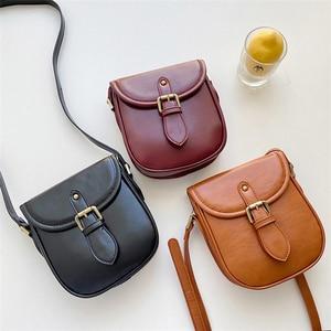 Vintage Mini Women Bags PU Leather Japan Style Ladies Shoulder Bag Female Cover Crossbody Phone Bag Whole Sale