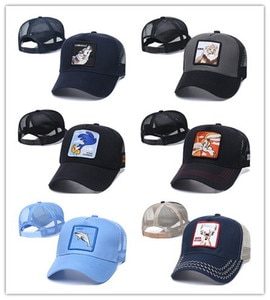 45 Style Spring And Summer Baseball Net Caps Rooster Animal Embroidery Baseball Caps Men And Women Personality Caps Wholesale