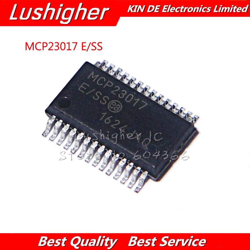 2 uds MCP23017-E/SS SSOP28 MCP23017 SSOP-28 MCP23017-E/S