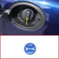 red blue aluminum alloy gas fuel tank cap cover trim for alfa romeo giulia stelvio accessories