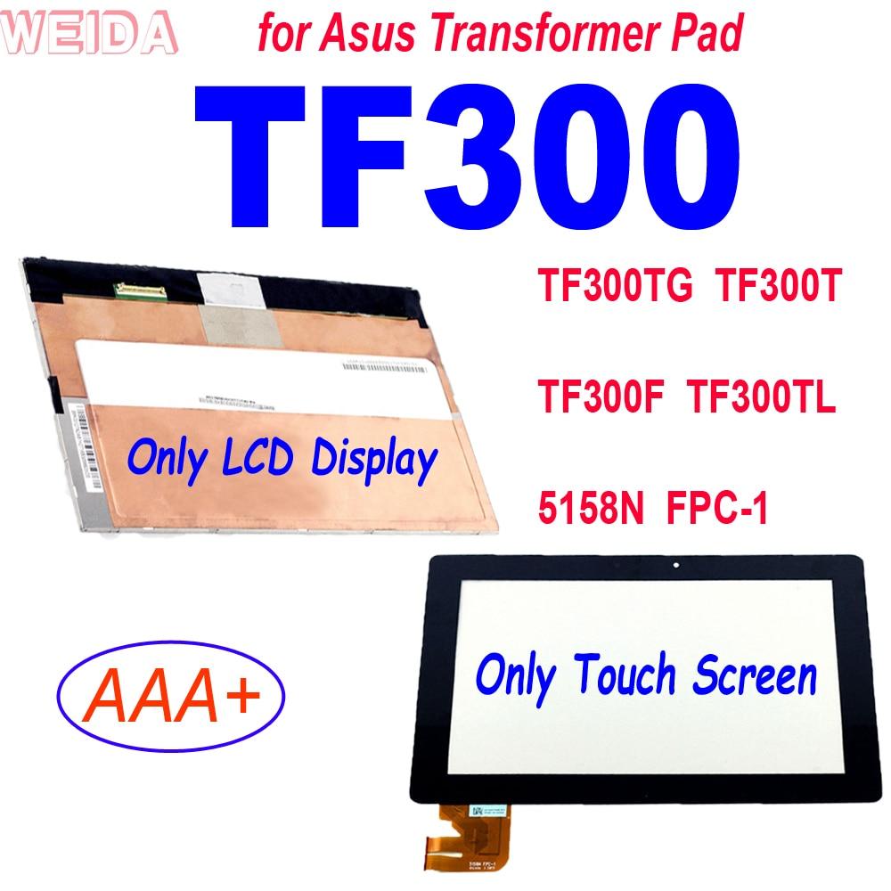 10,1 ''para Asus Transformer Pad TF300 TF300TG TF300T TF300F TF300TL 5158N FPC-1...