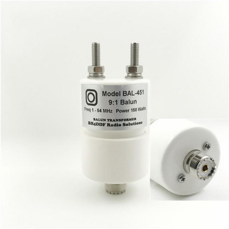 Mini BH4DDF قصيرة موجة بالون ، هوائي balun 9:1 BAL-451