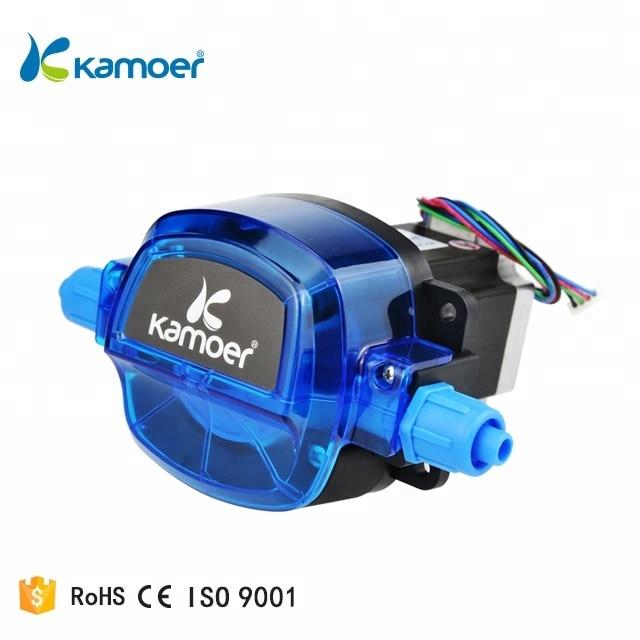 Kamoer KHL 12V/24V micro water pump large flow stepper motor dosing filling peristaltic pump small self-priming pump enlarge