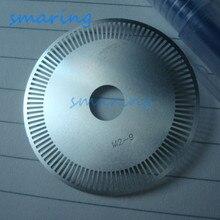 100 M2-9 lignes en acier inoxydable lumière Raster diaphragme mètre roue optique Tacho disque imprimante encodeur vitesse capteur disque
