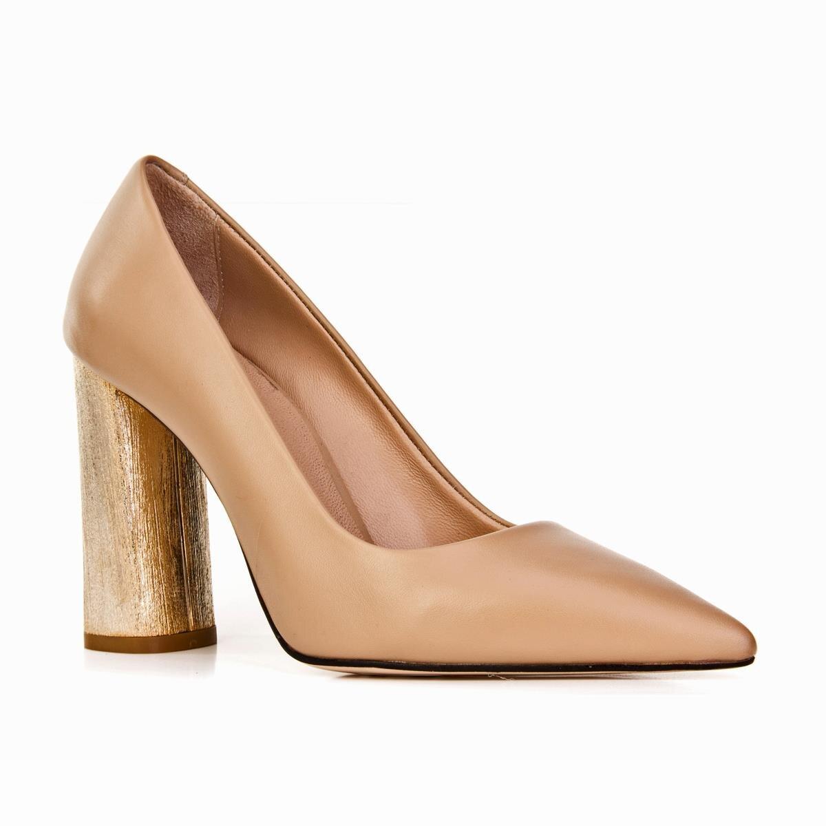 Cabaneri 97965 Neolıt Base okceleri chaussures-(Ms)-peau-Beige