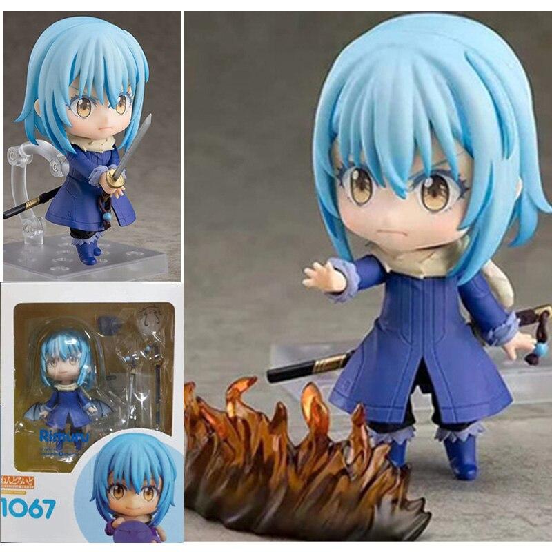 Figuras de acción de PVC de Anime Slime reencarnado a Slime Rimuru 1067, colección de juguetes de regalo