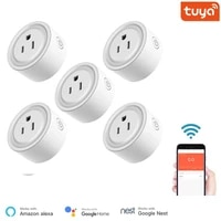Prise intelligente en maille Bluetooth  application Tuya Smart Life  fonctionne avec Alexa Google Home Assistant  controle vocal  moniteur dalimentation  synchronisation