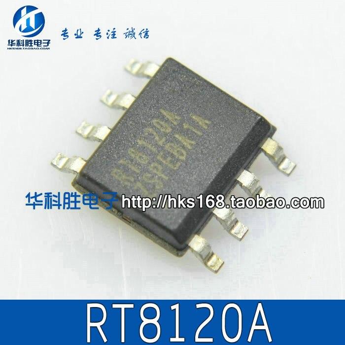 2 peças originais/rt8120a/rt8120b/rt8120d/rt8120h sop-8