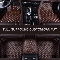 hlfntf full surround custom car floor mat for chevrolet suburban 2015 2019 car parts car accessories automotive interior