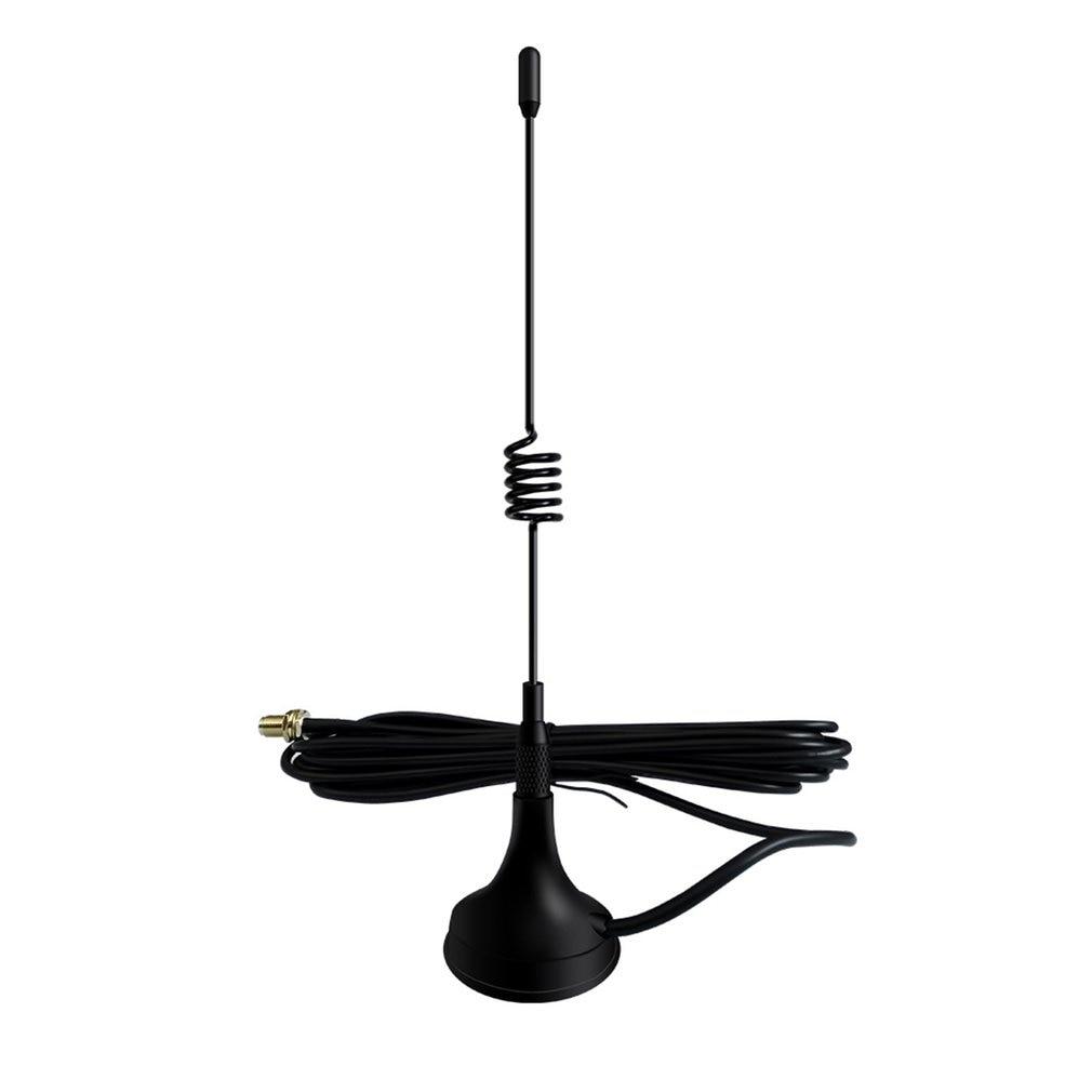 Antena para Baofeng Radio portátil Mini coche Antena Vhf para iluminación led en Baofeng 888 Uv5R Walkie Talkie antena Uhf