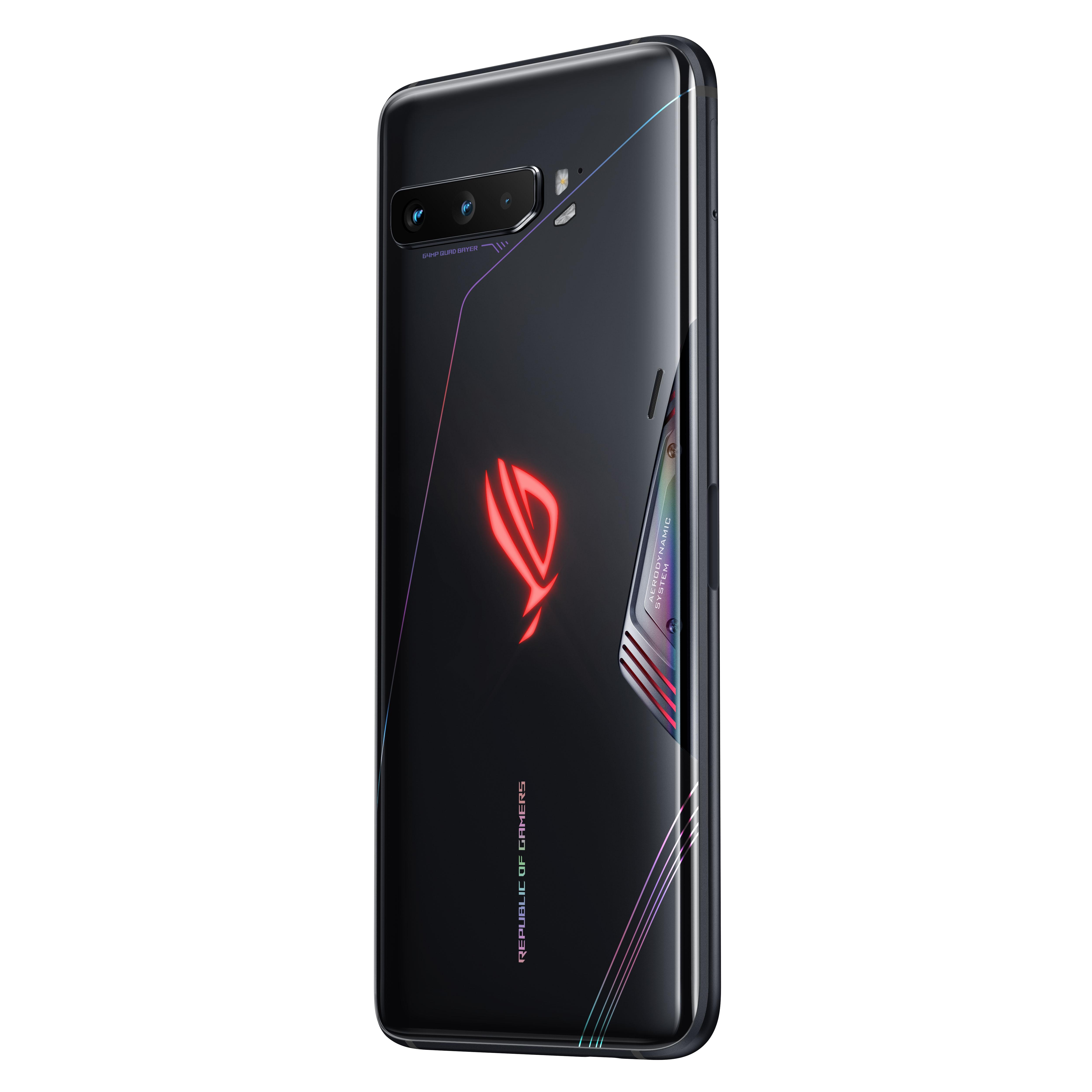 Фото2 - Глобальная версия ASUS ROG Phone 3 5G игровой телефон Snapdragon 865 плюс 8RAM 128ROM 6000 мА/ч, 144 Гц 2SIM карта NFC ROG3 смартфон