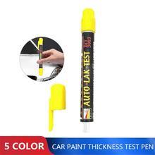 Prueba de pintura automática para coche, medidor de espesor de pintura, prueba de choque, con escala de punta magnética, 1/3/5 Uds.