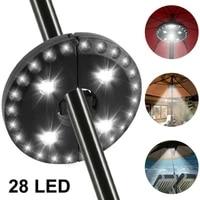 portable umbrella light28 led lights outdoor emergency lighting detachable disc hanging light for patio umbrellas camping tents
