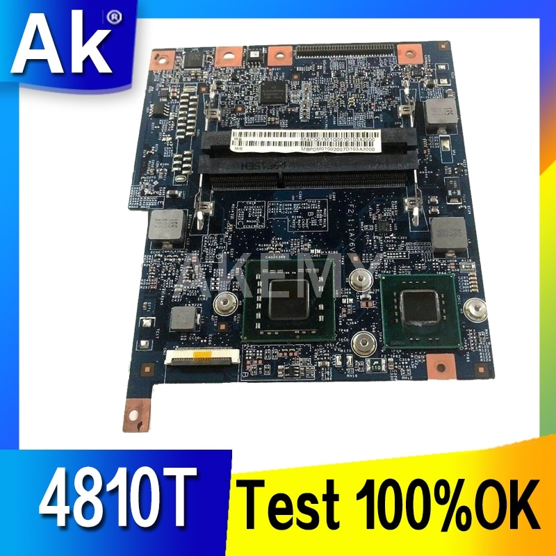 Akemy-placa base para portátil Acer aspire 4810 4810T, 48.4CQ01.021 MBPDM01001 GS45 DDR3,...