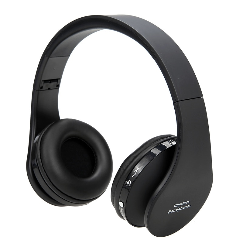 Fone de ouvido sem fio dobrável 2018, headset durável bluetooth com microfone, grave profundo