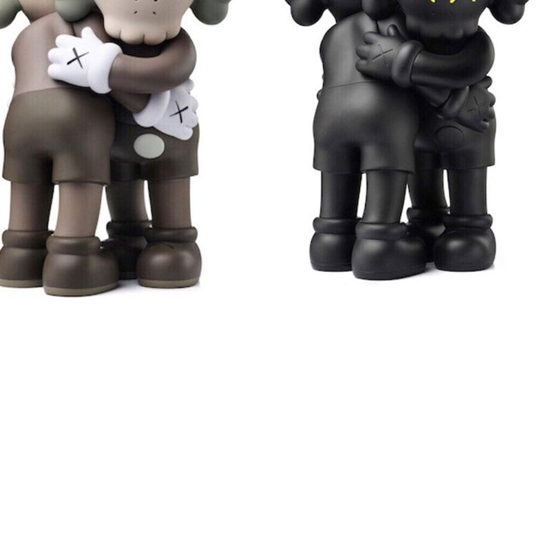 Горячая Распродажа 28 см kaw Bear Bricklys экшн-фигурки медведей вместе из ПВХ Куклы Коллекционные модели игрушек оригинальная подделка
