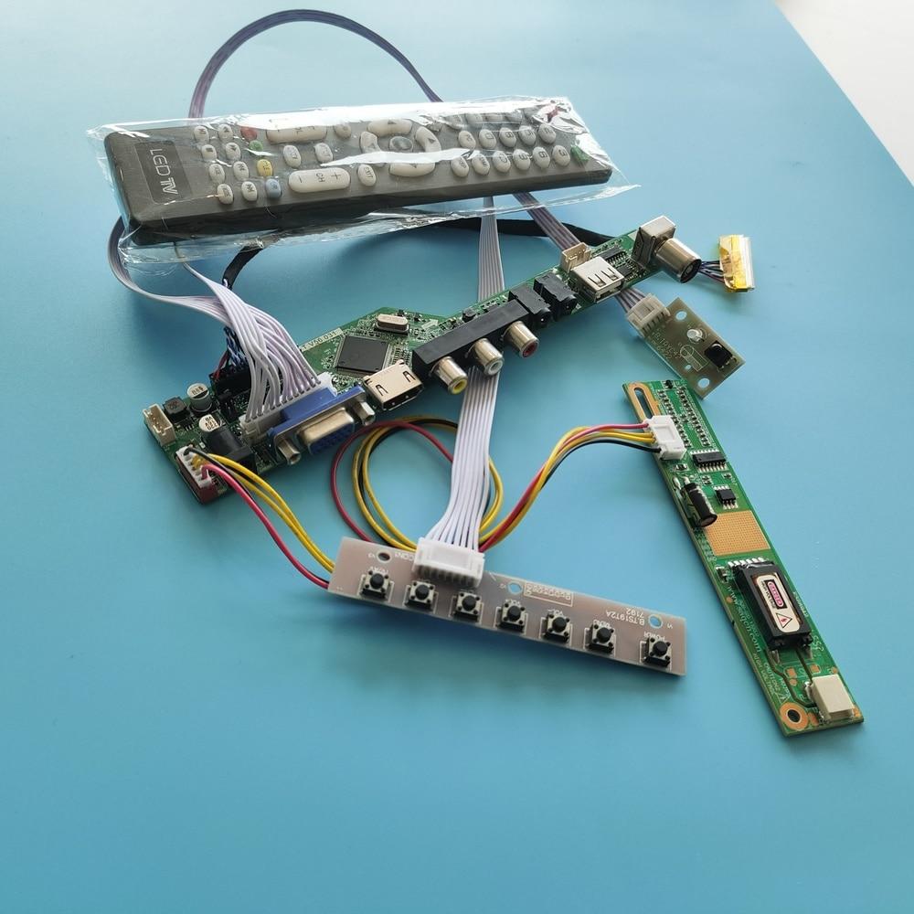 لوحة شاشة 1280X800 لـ B154EW04 V.2, لوحة تحكم ، صوت ، TV56 HDMI DVI ، DIY RF VGA AV ، شاشة LCD USB