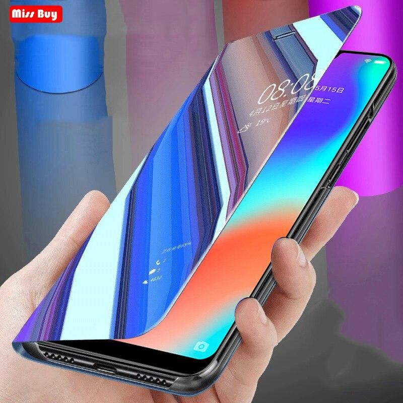Coque dla Samsung Galaxy C7Pro C7 Pro przypadku luksusowe lustro inteligentne skórzane etui z klapką do Samsung Galaxy C7 C9 Pro przypadku etui na telefony