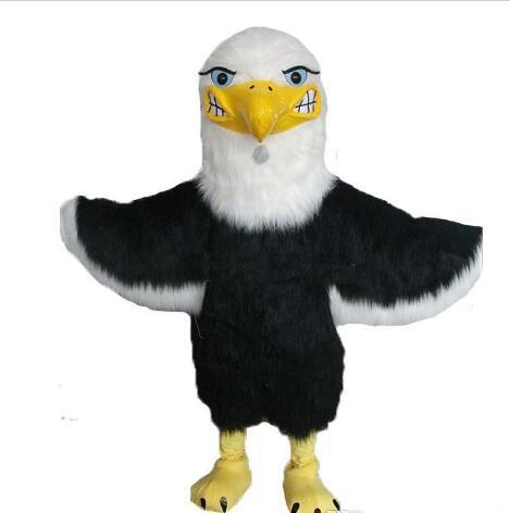 Disfraz para mascota de águila calva de alta calidad, disfraz para mascota de peluche, águila, halcón, pájaro, halcón, tema personalizado, disfraces de anime, Carnaval, mascota elegante