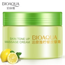 Bioaqua Lemon Massage Cream Beauty Whole Body Creams Anti Aging Whitening Smooth Cream Milk Lotion Repair Skin Care