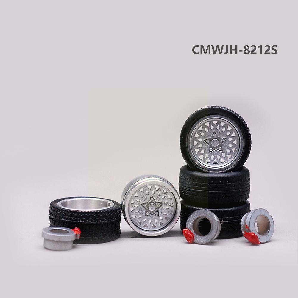 Модель 1/64 Модифицированная шина модель No.8012 Модифицированная резиновая модель шины общего назначения Лидер продаж 2021 автомобильные шины о...
