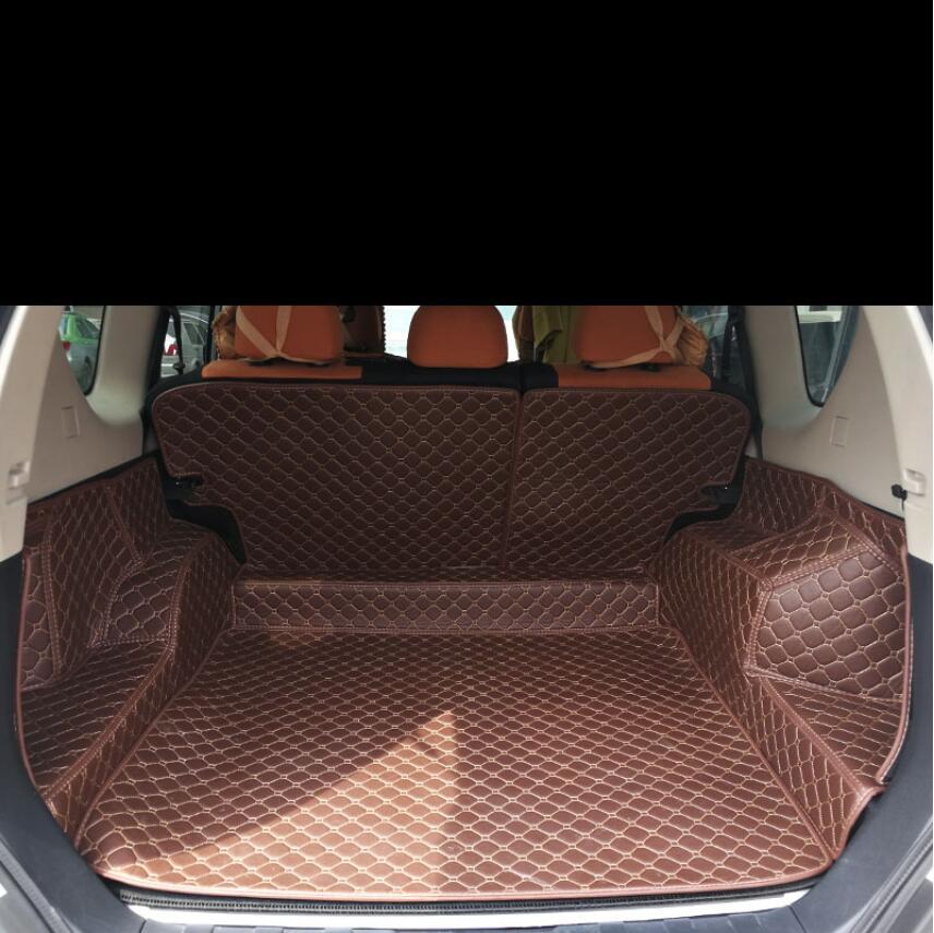 for Leather Car Trunk Mat Cargo Liner for Nissan X-trail 2007 2008 2009 2010 2011 2012 2013 Fengdu MX6 Rug Carpet