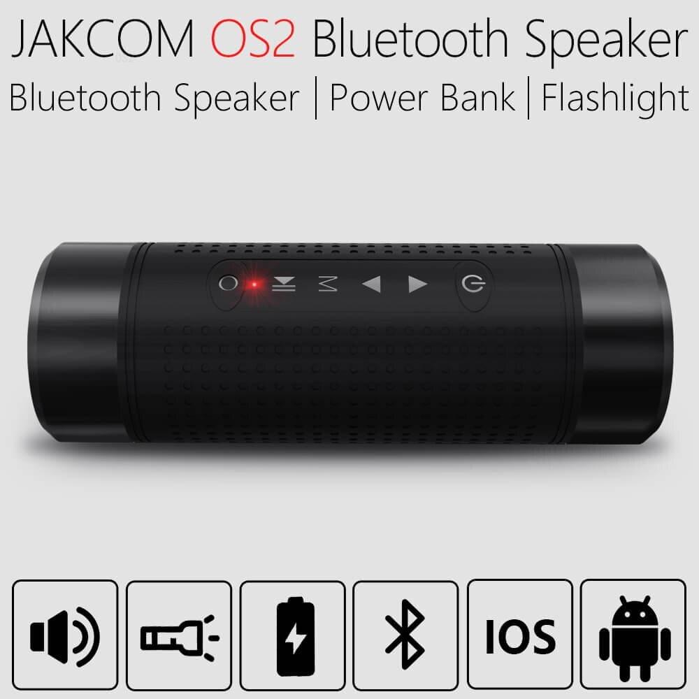 JAKCOM OS2 altavoz inalámbrico al aire libre nueva llegada como batería audiófila externa recargable radio am fiio x3 alexa amazon dot 3