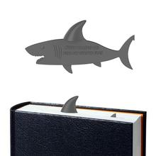 3D Shark Bookmark Animal Stereo Character Bookmark Office Student Innovative School Supplies