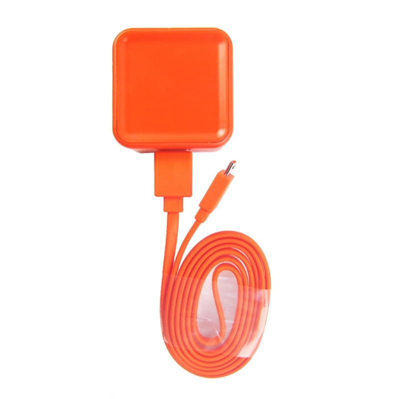 Replacement 1M USB Charger power Charging Data Cord Cable for JBL Flip 3 4 Pulse 2 Bluetooth Speaker Orange Practical