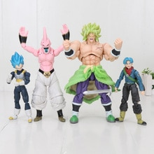 14-20cm Dragon Ball Super troncs végéta krilli Broly Buu Hercule marque SHF figurine Dragon Ball Figurines modèle jouets