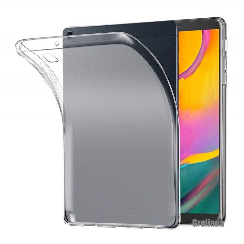 Чехол для Samsung Galaxy Tab 8,0 2019, чехол для Samsung Galaxy Tab A 8,0 SM T290 T295, чехол для планшета, защита из мягкого силикона и ТПУ
