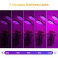 A + растут светильник, 5 уровней яркости завода светать светильник s для комнатных растений с красные, синие спектра, 3 режима Функция времени