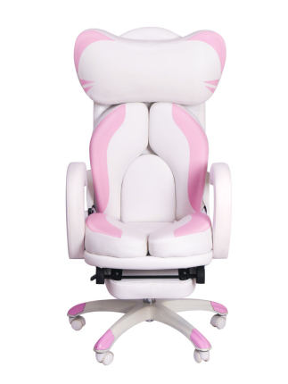 Hao zun girl lovely and comfortable white e-sports chair computer home game live camera anchor