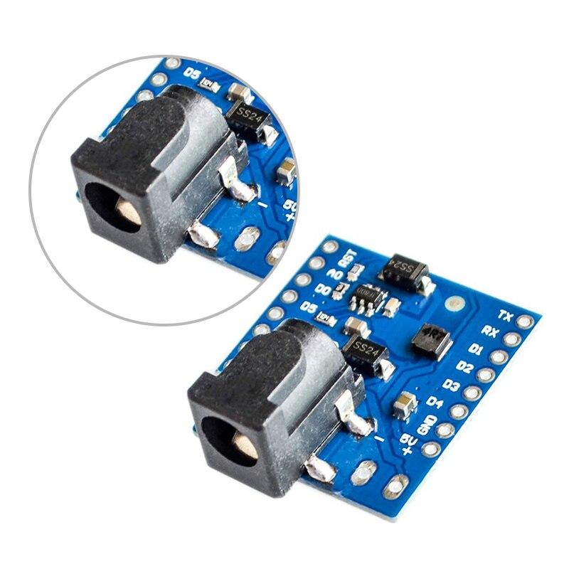 DIY Module DC 7-24V 1A DC Power Shield V1.1.0 for WEMOS D1 Mini with Pins