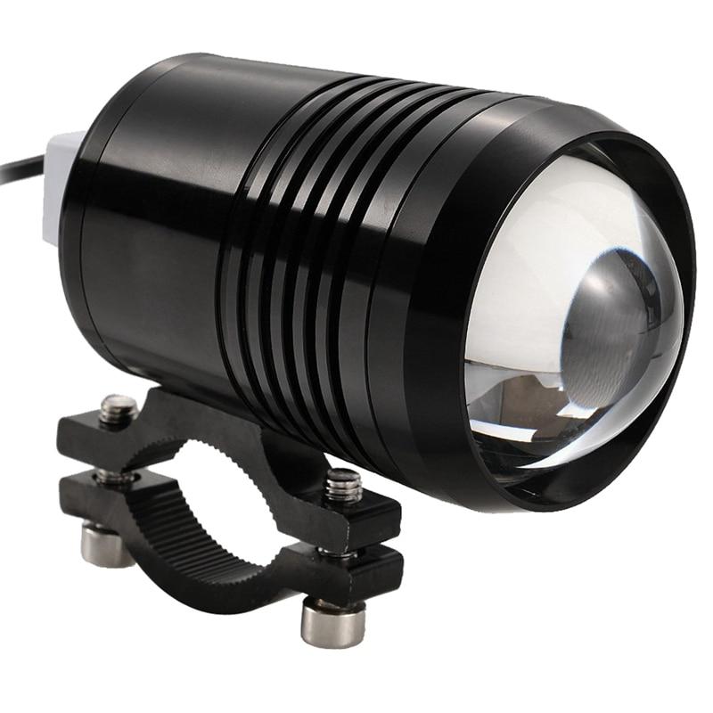 LBER lámpara LED U2 blanco DC10-30V Faro foco antiniebla Universal impermeable frontal Super brillante 3 modos noche fuera de carretera tr