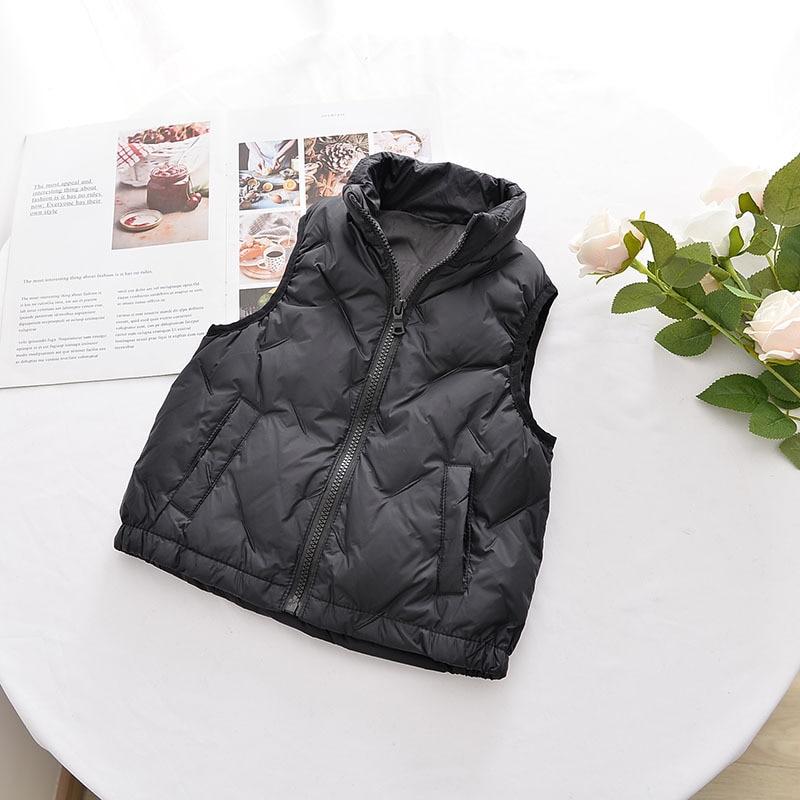 Новинка 2021, зимний детский весенне-осенний жилет, пальто xu92416