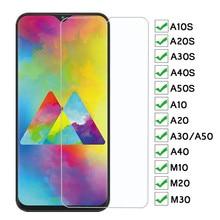 9H Verre De Protection Pour Samsung Galaxy A10S A20S A30S A40S A50S A10 A20 A30 A40 A50 Trempé Verre M10 M20 M30 Protecteur Décran