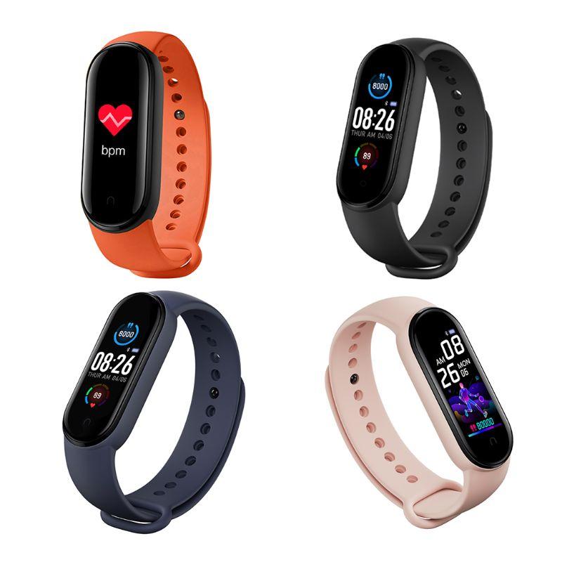 M5 Sport Fitness Smartband Smart Bracelet Blood Pressure Heart Monitor Rate Band D08A