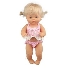 2020 New Lovely Bikini For 42 cm Nenuco Doll 17 Inches Baby Doll Clothes