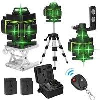 kkmoon 16 lines laser level tool vertical horizontal line 3%c2%b0 self leveling with laserline brightness adjustable function