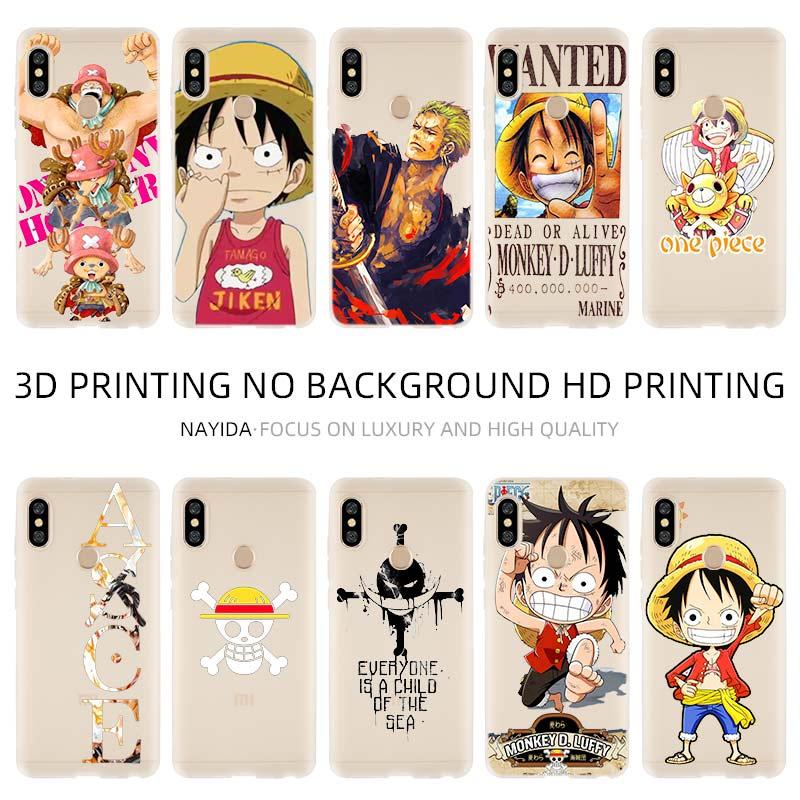 Fashion Soft TPU Case Cover For Coque Xiaomi Redmi 4X 4A 6A 7a Y3 K20 5 Plus Note 8 7 6 5 Pro One piece