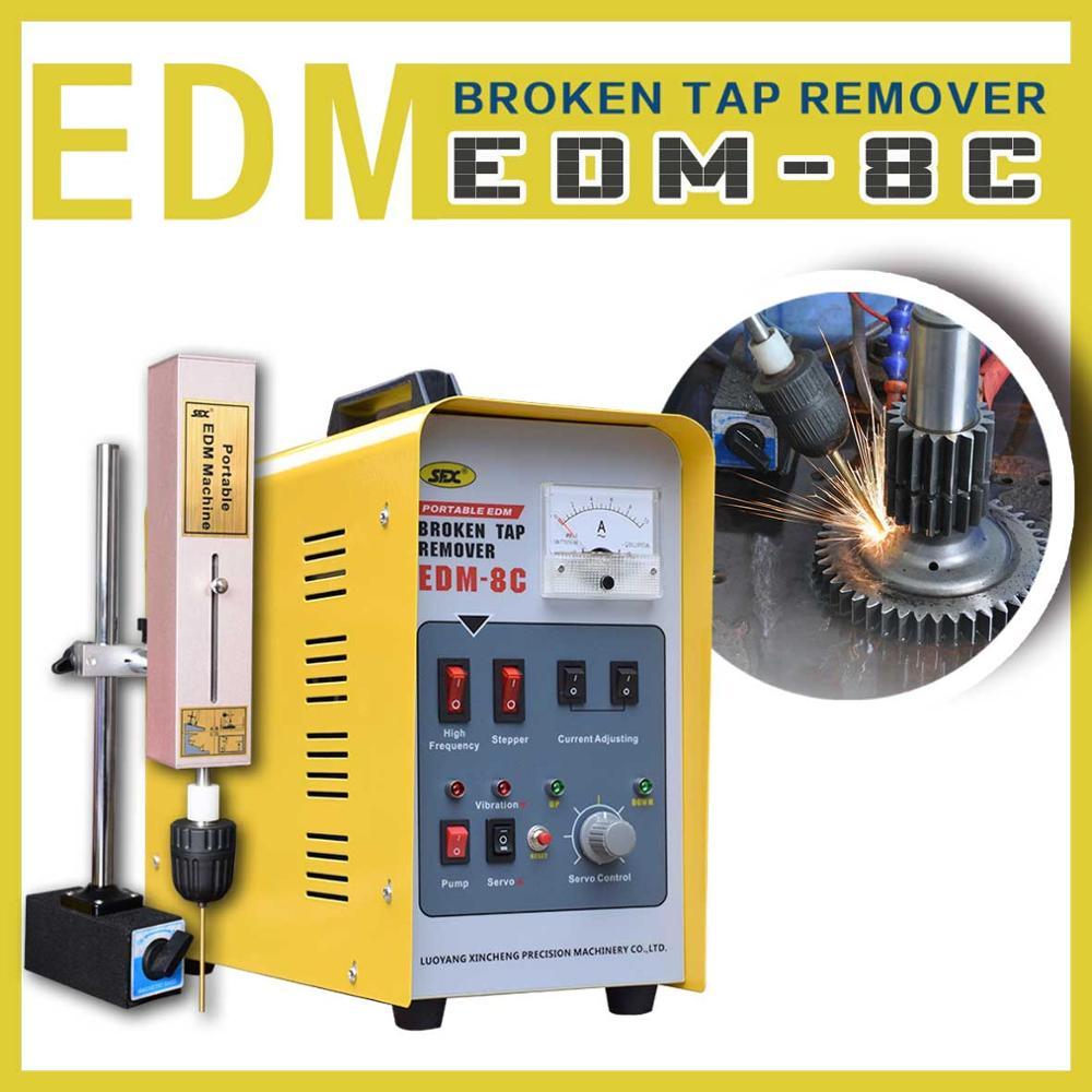 Comment enlever le boulon dacier inoxydable galbé avec le EDM-8C cassé dextracteur de robinet