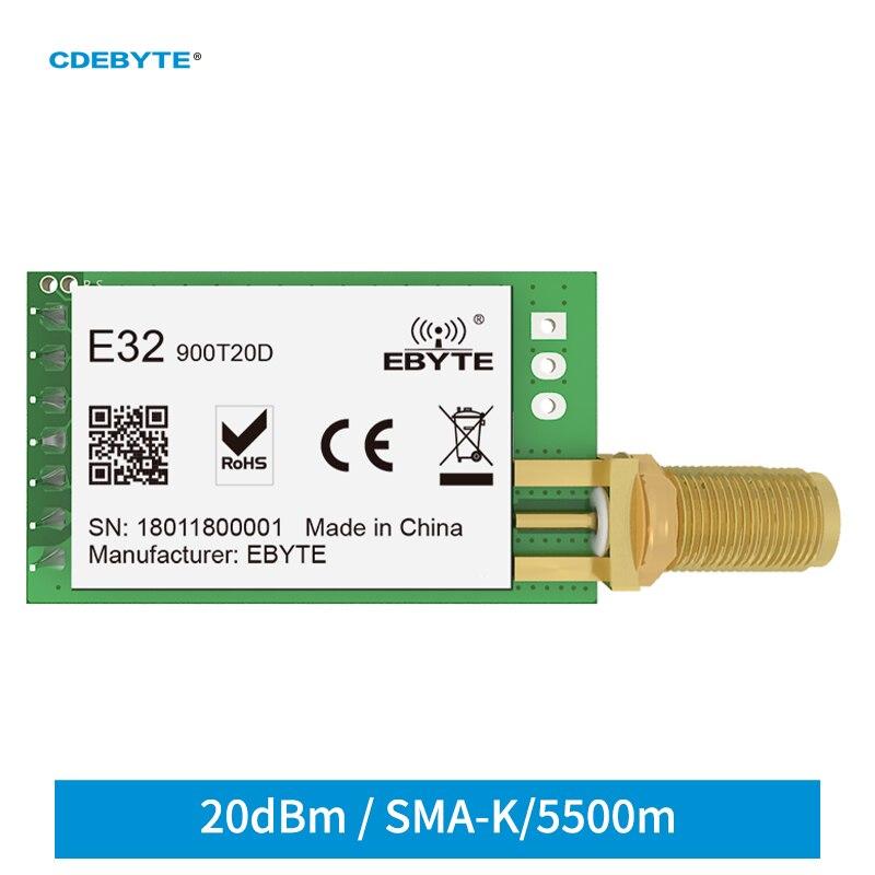 868mhz 915mhz cojxu e43 900t13s3 low cost iot module development board uart wireless transceiver transmitter receiver Ebyte E32-900T20D LoRa SX1276 868MHz 915MHz IoT 20dBm 100mW Wireless Transceiver Module UART Transmitter and Receiver