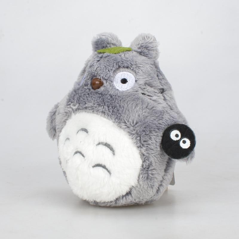 printio totoro x baymax 10cm Totoro Plush Toys Anime Totoro Keychain Toy Stuffed Plush Pendant Totoro Dolls Package Accessories Child Birthday Gifts