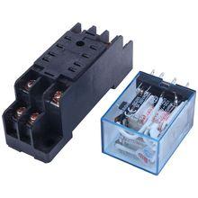 DPDT relais de puissance MY2NJ   Bobine ca 220/240V, Base de prise w à 8 broches