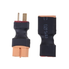 Hot Sale XT60 To T Dean Plug Conversion Connector For Battery & Charger RC Quadcopter