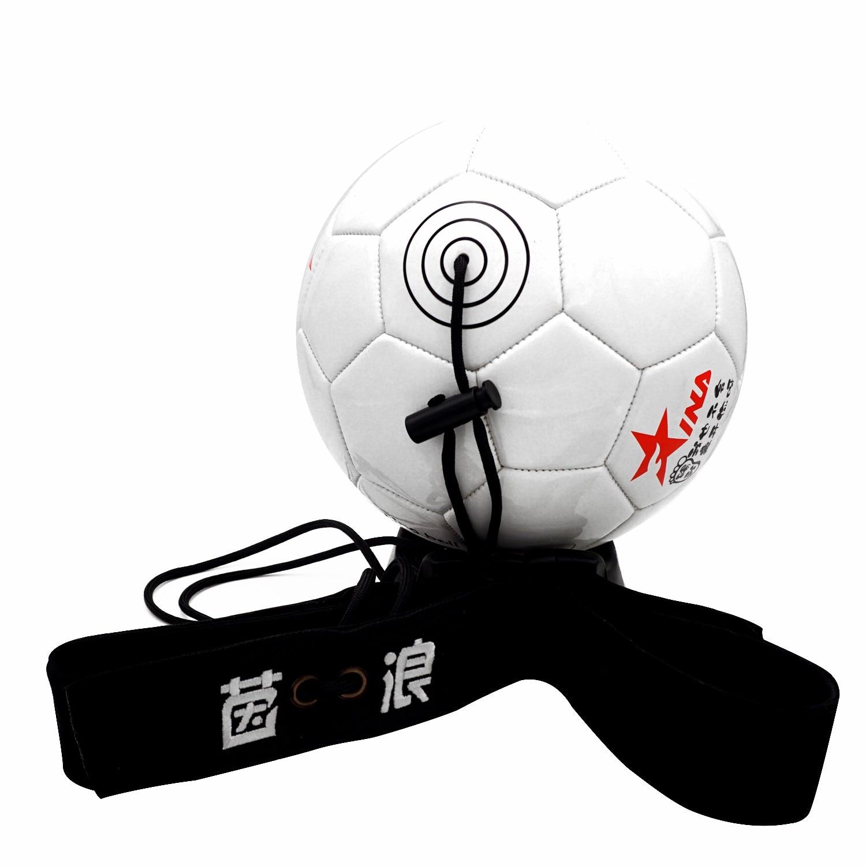 1 шт. Футбол + пояс 1 шт. Футбол практика пояса Футбол удар, тренирующий пояс, регулируемый тренер учебное оборудование практика ремень
