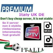 Iptv android box unterstützung smart tv PC linux m3u enigma2 schiff von italien